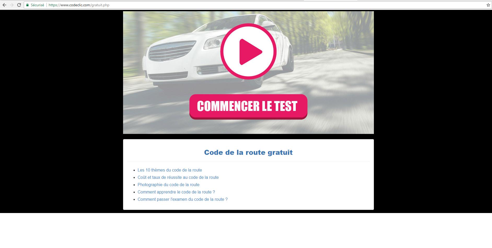 2fcf6a002987d Code de la route